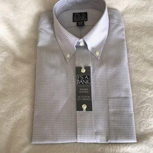 Jos A Bank classic button up non iron shirt